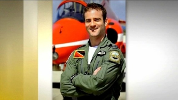Flight Lieutenant Jon Egging