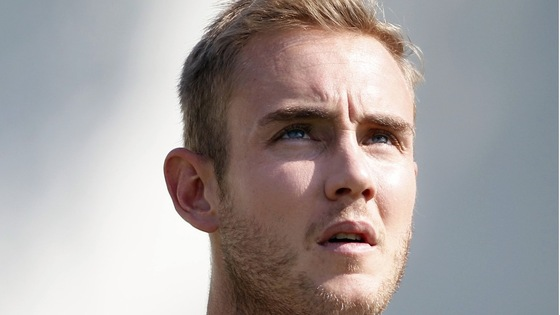 England fast bowler Stuart Broad 