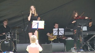 A performance at the Sounds of Essex Festival.