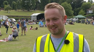 Charly Richardson, festival organiser.
