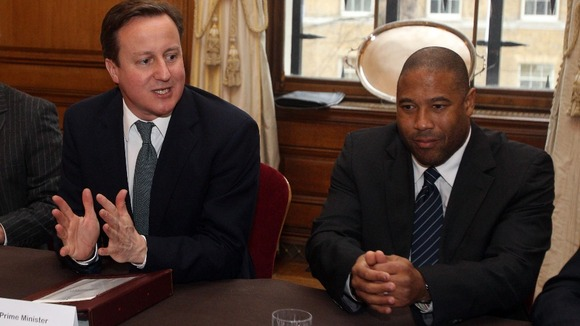 David Cameron and John Barnes