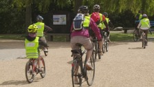 Cyclists saddled up to take over the city