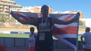 Dr Gill Owens competed in Malaga