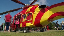 The new Essex and Herts Air Ambulance.