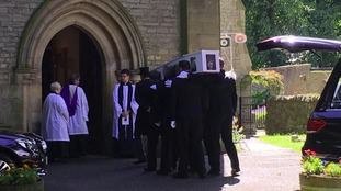 The funeral of Kieran Maxwell takes place in County Durham