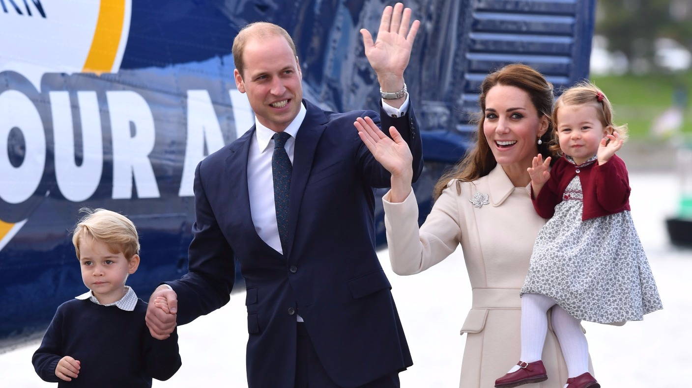prince george and princess charlotte to join duke and
