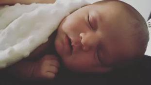 Corrie McKeague's daughter has been named Ellie-Louise