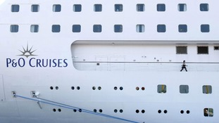 The luxury P&O liner, Oriana