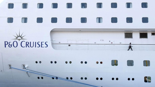 The luxury P&O liner, Oriana