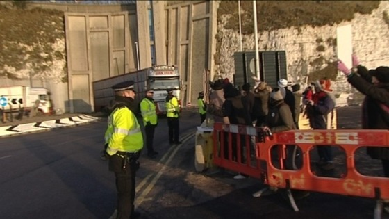 Protest against live animal exports 