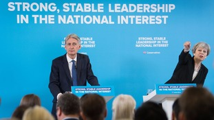 Chancellor Philip Hammond was a rare presence in the Tory election campaign that played down the economy.