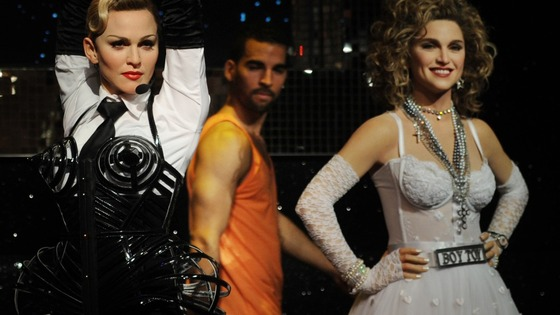Three new wax figures of Madonna go on show at Madame Tussauds