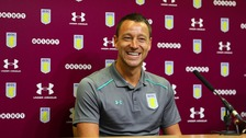All smiles for John Terry at today's press conference