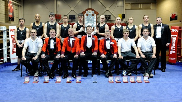 Members of the 3 Para boxing team