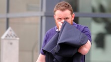 Prison officer Richie Hoy, 35, has been jailed for 32 weeks for groping women.