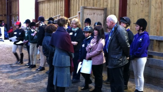 Princess Anne meets disabled riders in Bradford