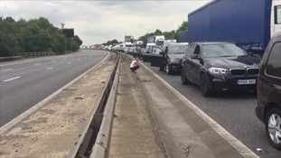 Highways England is warning that delays on the M11 in Essex may last until 4pm.