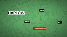 Essex Police are appealing for witness after a man was left with life-threatening head injuries following a suspected attack in Harlow.