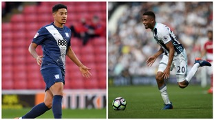 Tyias Browning (left) Brendan Galloway (right)