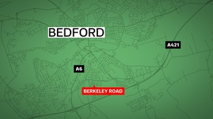A man has been charged with making an explosive substance in Bedford.
