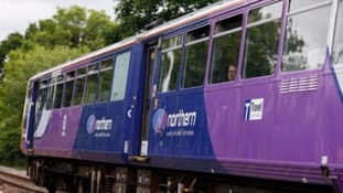The strike is part of an ongoing dispute on the role of Northern rail's train guards