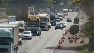 New A14 takes shape in Cambridgeshire countryside