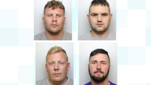 Four men jailed for 54 years after shooting