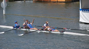 Record-breaking rowing win at Henley for Newcastle University