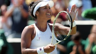 Watson through to Wimbledon third round after impressive display