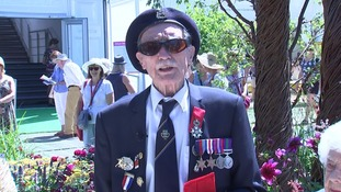 D-Day veteran 'overwhelmed' as he receives replacements for missing medals lost at service station