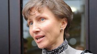 Marina Litvinenko, the wife of former spy Alexander Litvinenko