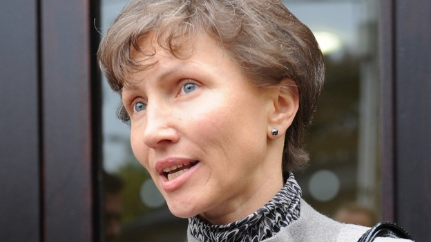Marina Litvinenko, the wife of former spy Alexander Litvinenko