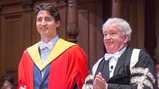 Justin Trudeau paid tribute to shared culture between Canada and Scotland.