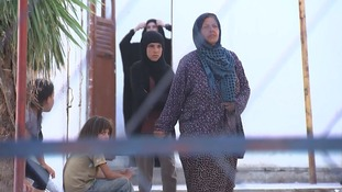 The brides and daughters of Isis fighters are held at the camps.