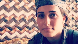 The Kurdish female fighters are part of the YPJ, who have served a critical role in the fight against Isis.
