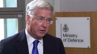 Defence Secretary accepts UK set for battle to catch British extremists returning home