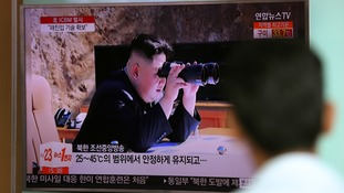 Kim Jong-un has indicated he will continue developing missiles.