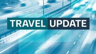 M45 Eastbound closed