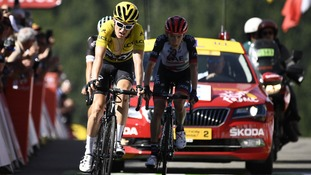 Geraint Thomas determined to keep pace with team-mate Chris Froome