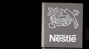 Nestle factory sign