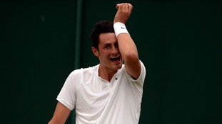 Tomic claimed post-match he was 'bored'.