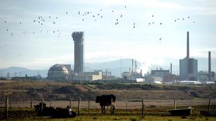 The Sellafield nuclear site in Seascale, Cumbria.