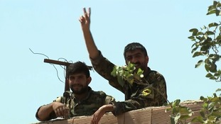 Kurdish advances against Isis in Raqqa saw Arsem captured and freed.