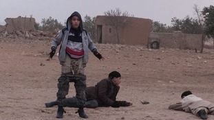 Young Isis soldiers are told to remove their clothes upon capture to prove they are not wearing bomb belts.