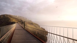 English Heritage says the bridge will attract more visitors to the ancient site.
