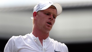 Edmund's dream of reaching third round of Wimbledon are over.