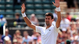 Novak Djokovic untroubled in searing Wimbledon heat as he beats Adam Pavlasek
