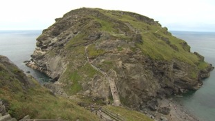 The existing footpath to Tintagel Castle.