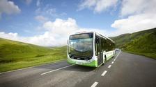 Traws Cymru bus