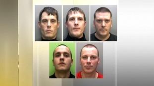 5 men sentenced today